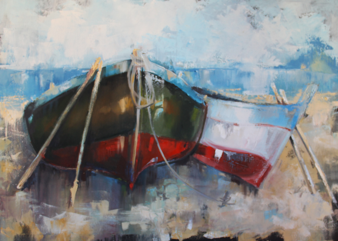 Alessia Lisenko. Boats