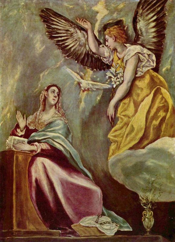 Доменико Теотокопули (Эль Греко). Благовещение