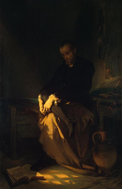 Луи Галле. Тассо в темнице