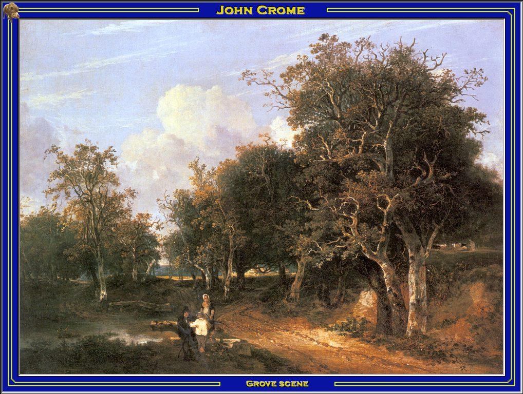 Джон Берни Хром. Пейзаж