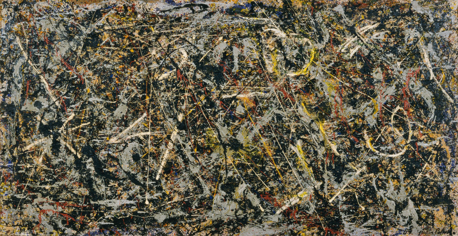 Jackson Pollock. Alchemy
