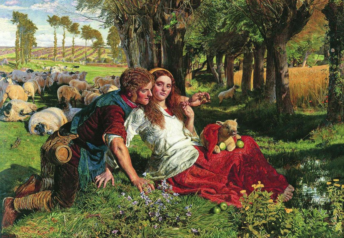 Уильям Холман Хант. Наемный пастух