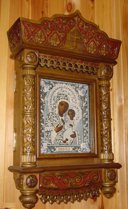 Московская Иконописная Мастерская. Икона Богородицы Смоленская