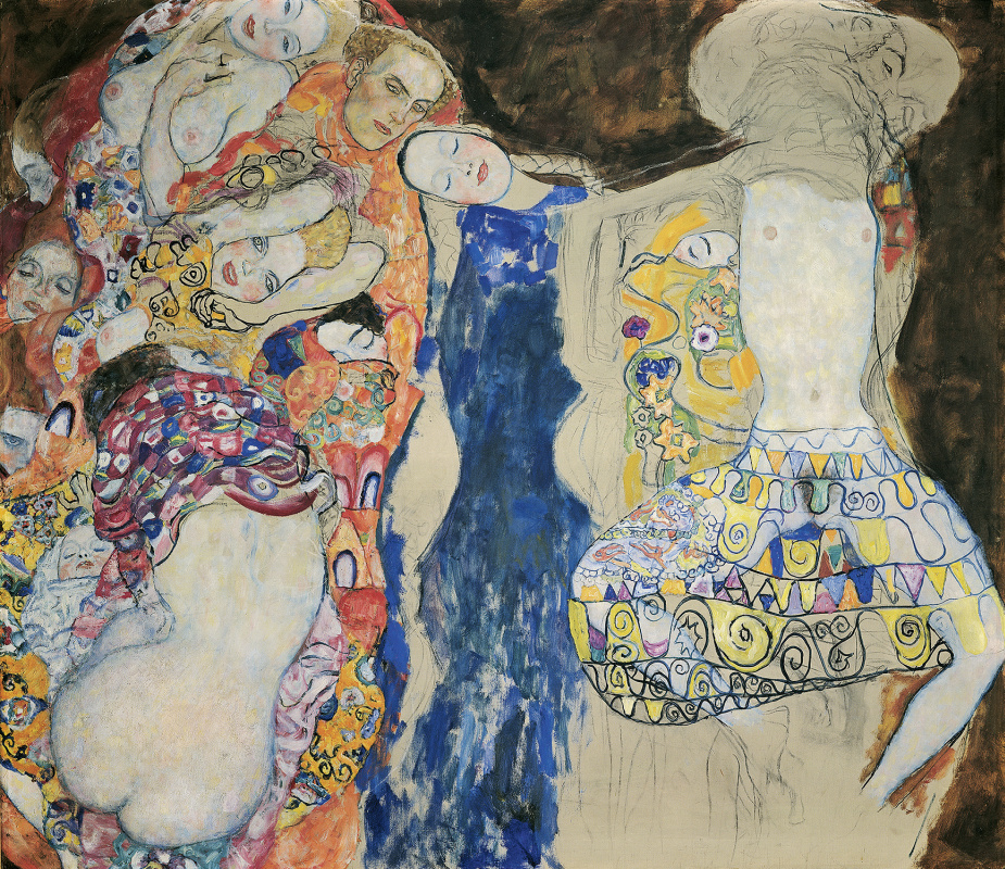 Gustav Klimt. The Bride (unfinished)