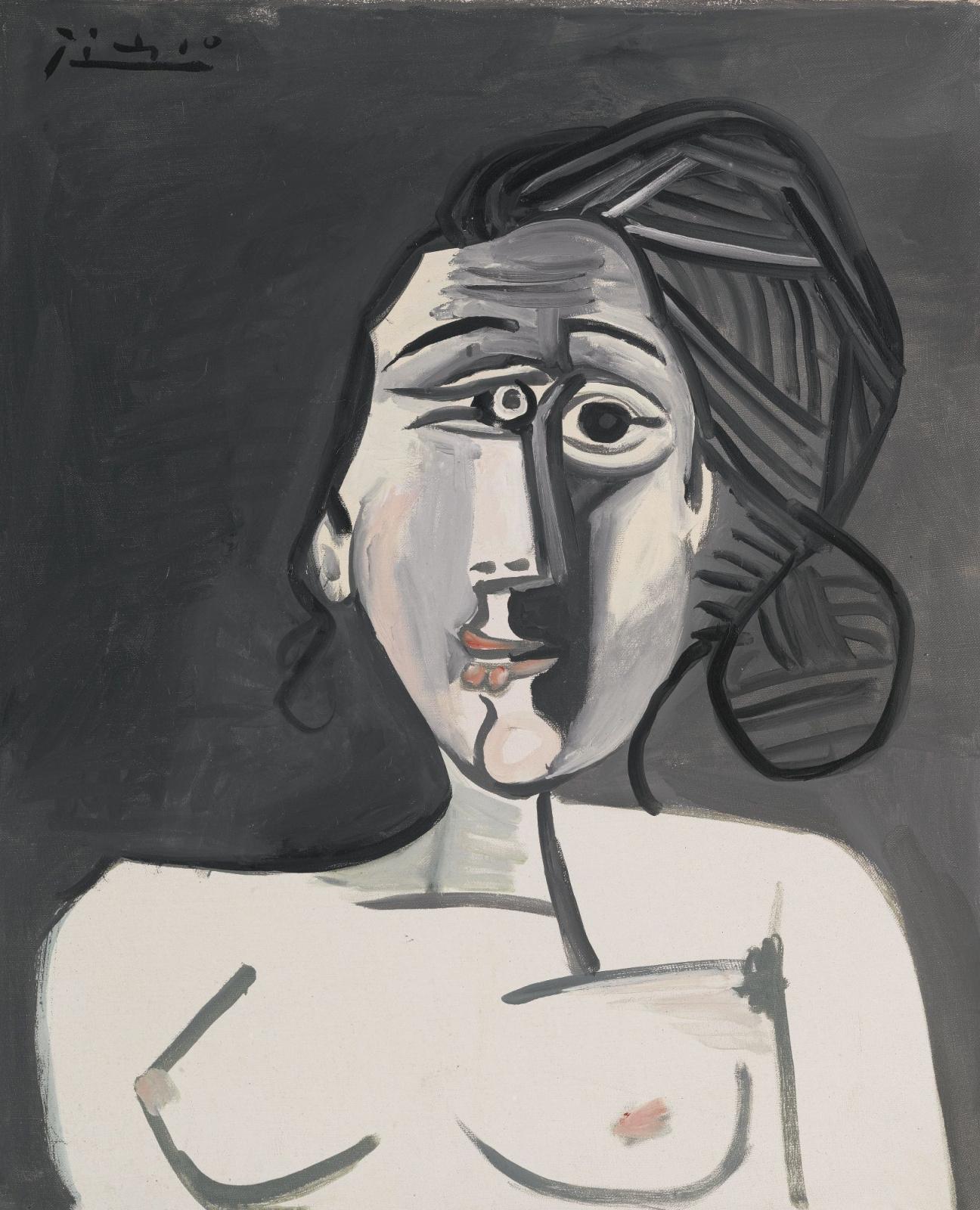 Пабло Пикассо. Бюст женщины (Франсуаза Жило)
