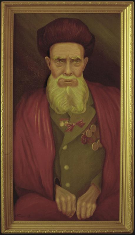 Vladimir Pavlovich Parkin. Старик-узбек ветеран войны.