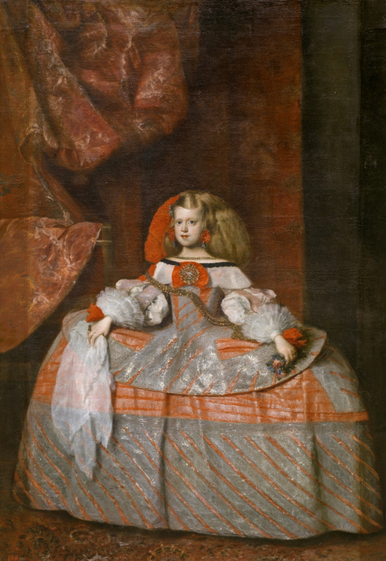 Juan Batista Martinez del Maso. Portrait of Infanta Margarita of Austria as a Child