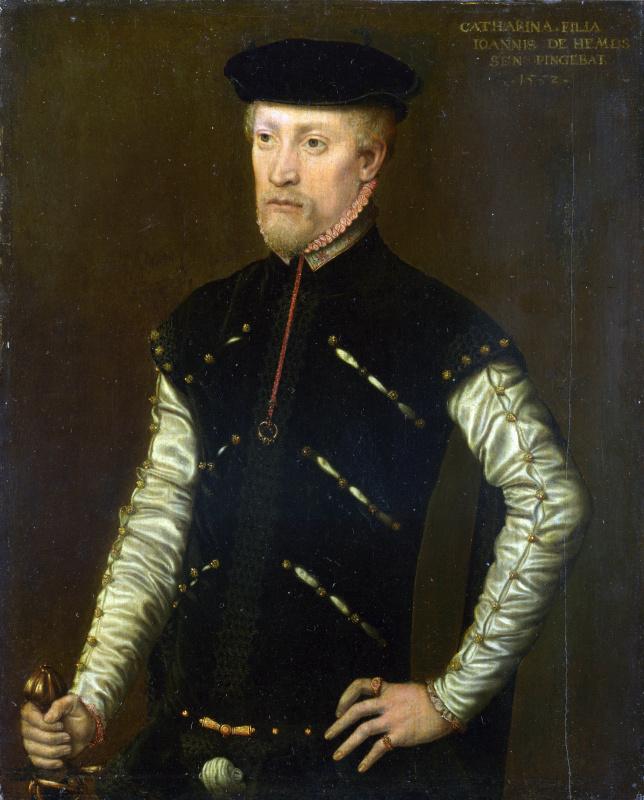 Катарина ван Хемессен. Портрет мужчины