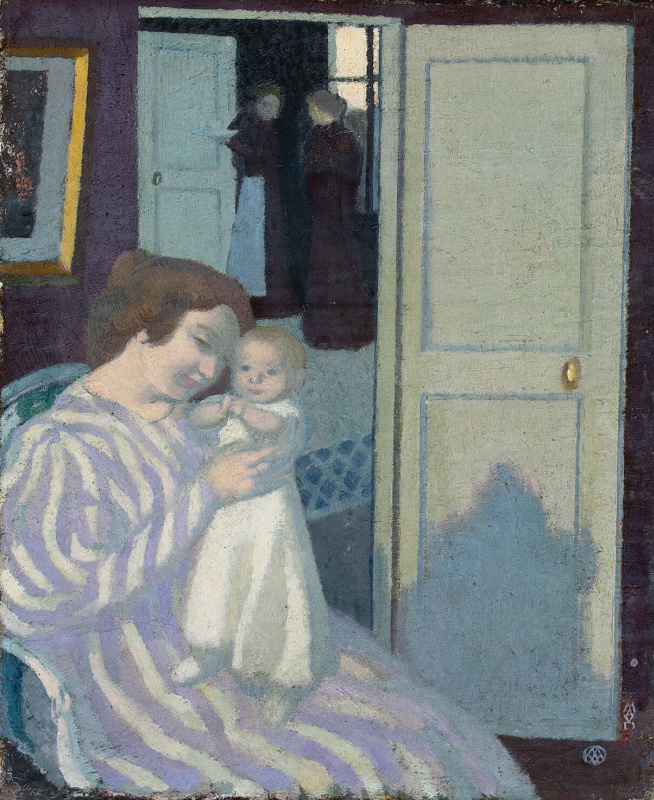Maurice Denis. Mother and child