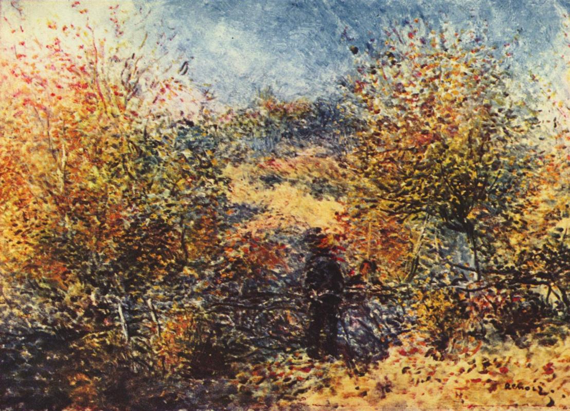 Pierre-Auguste Renoir. Spring landscape