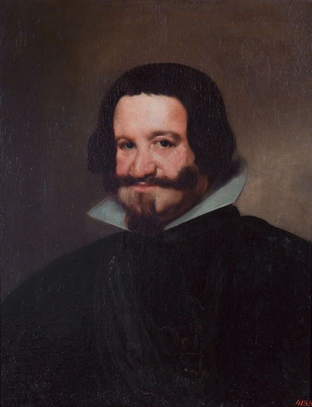 Diego Velazquez. Portrait of count-Duke of Olivares