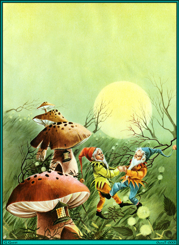 Г Гатти. Танцы в грибах