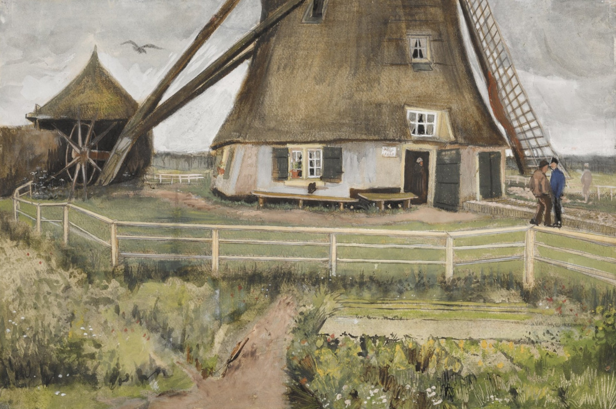 Винсент Ван Гог. Ветряная мельница близ Гааги