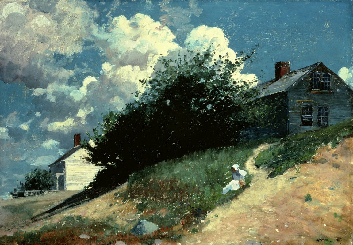 Winslow Homer. House on the hill