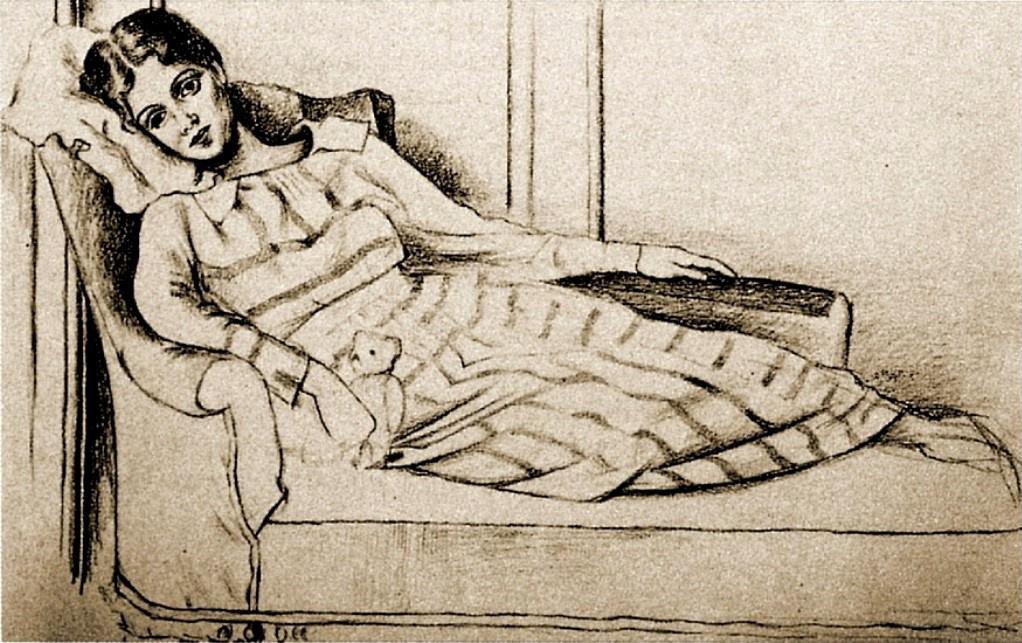 Pablo Picasso. Portrait Of Olga Khokhlova