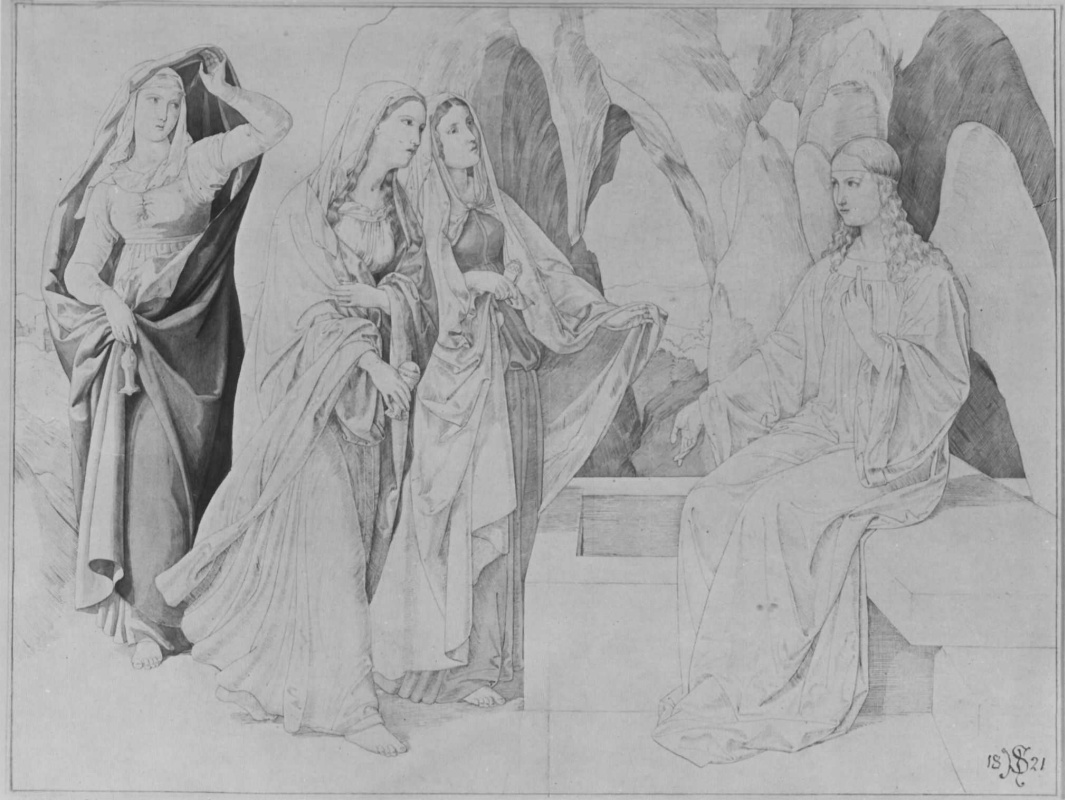 Юлиус Шнорр фон Карольсфельд. Три Марии у гроба