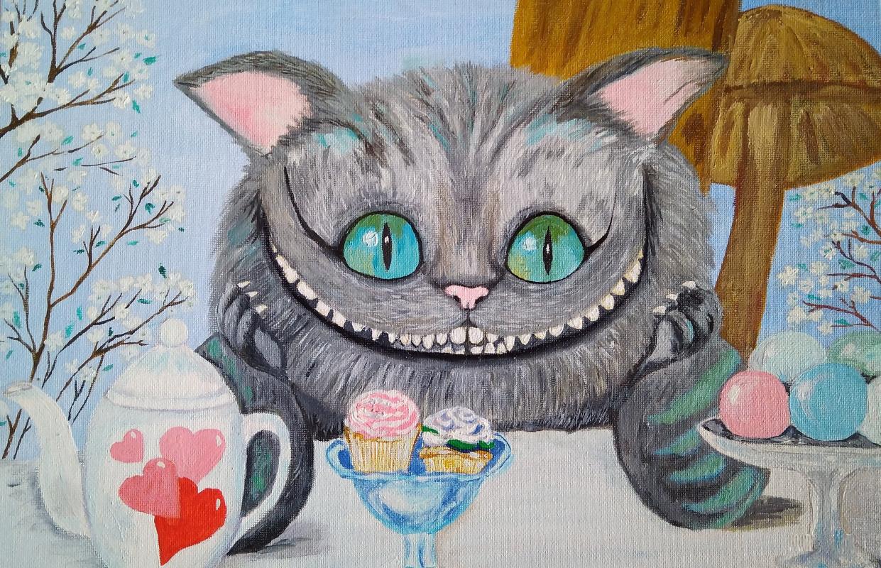 Olga Pavlovna Georgieva. Cheshire Cat