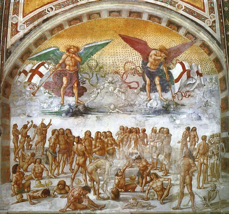 Luke Signorelli. The resurrection of the flesh