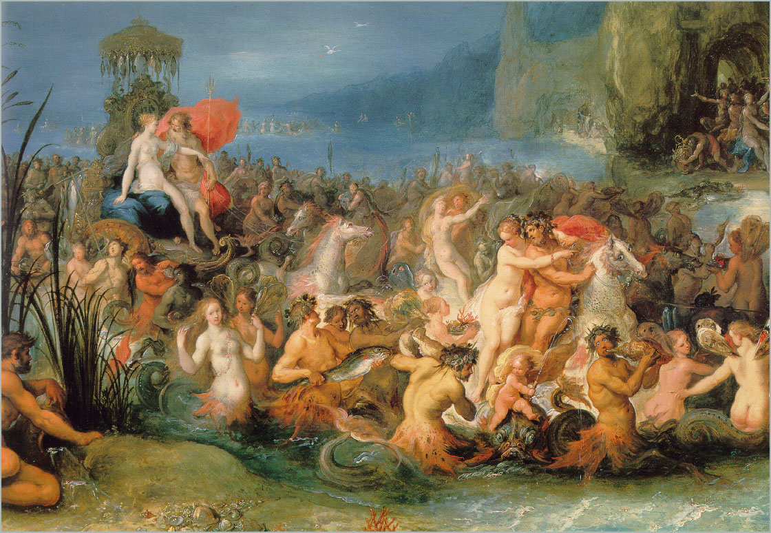 Франс Франкен Младший. Триумф Нептуна