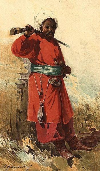 Сергей Иванович Васильковский. Запорожский казак