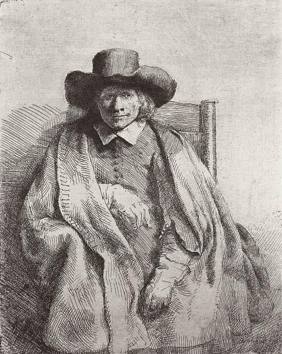 Рембрандт Ван Рейн. Портрет Клемента де Йонге