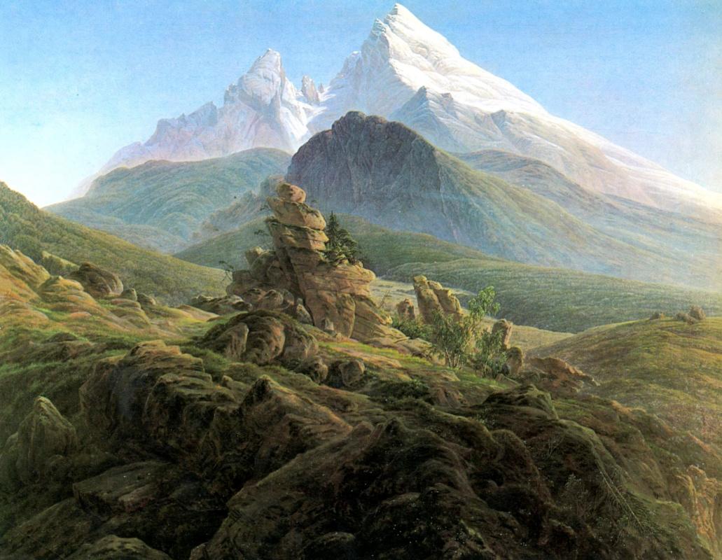 Каспар Давид Фридрих. Вацман