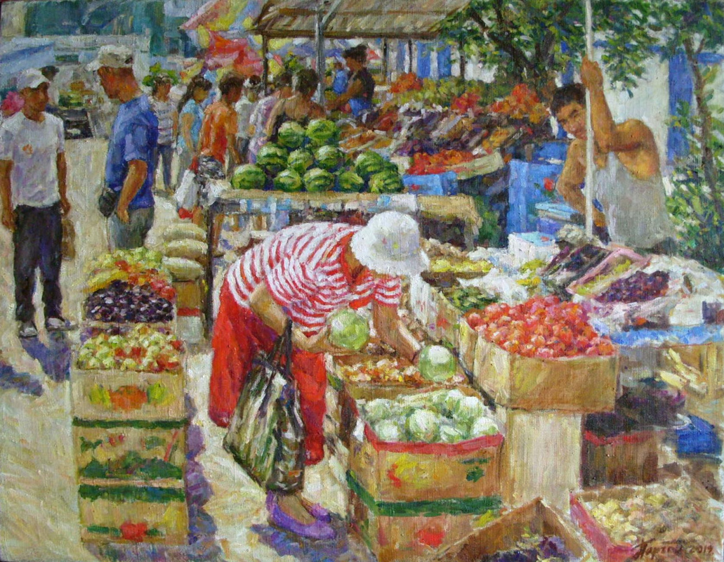 Urii Parchaikin. Market