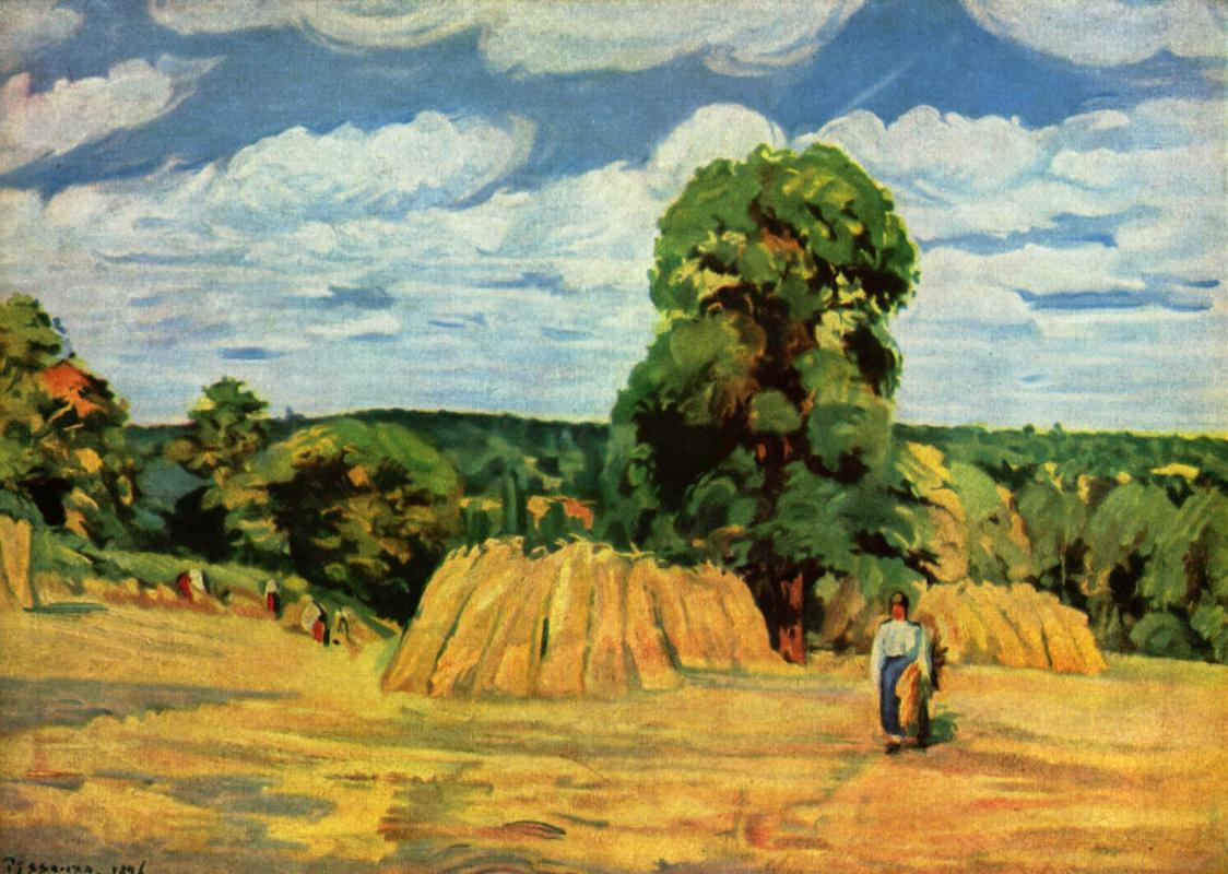 Camille Pissarro. Harvest
