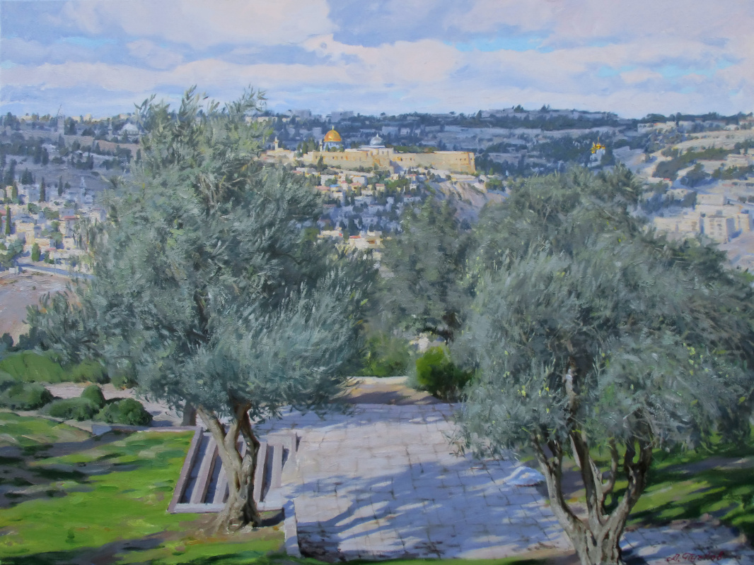 "Artem Yurievich Puchkov. ""Jerusalem. The Promised Land"""