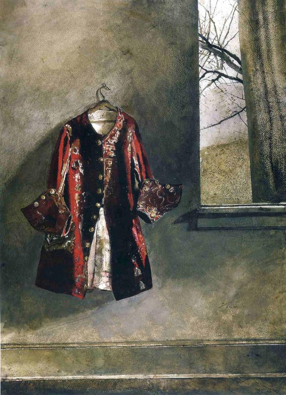 Andrew Wyeth. Curtain call