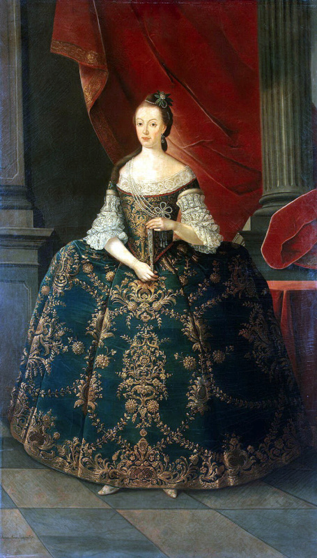 Miguel antónio do Amaral. Portrait Of Maria Francisci