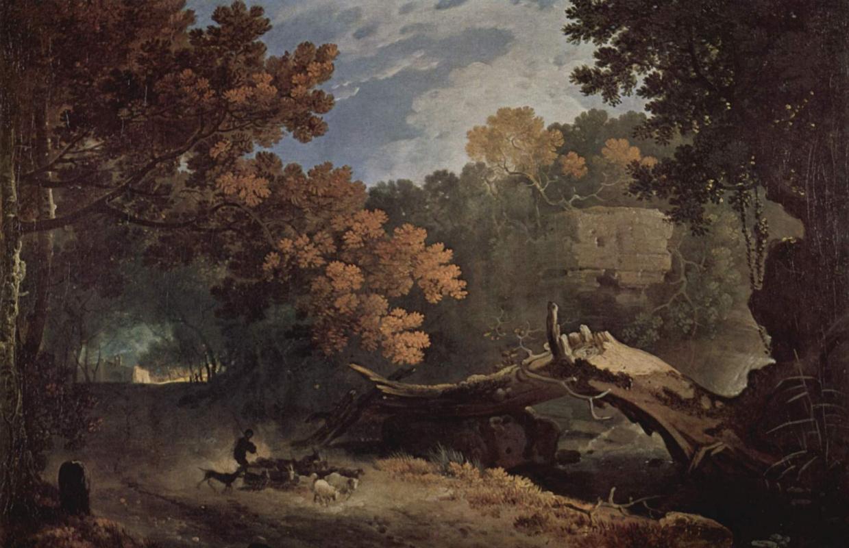 Ричард Уилсон. Сломленное дерево