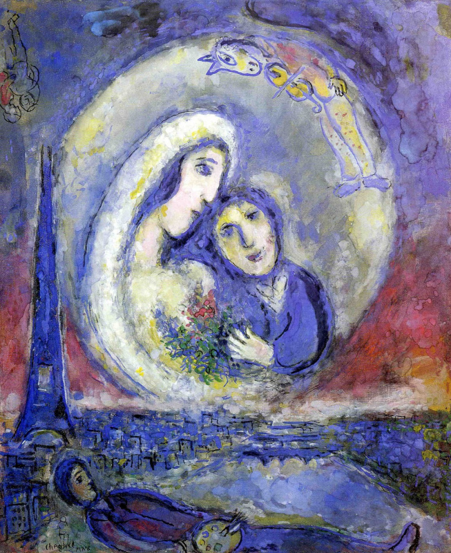 Marc Chagall. Dream (Dream)