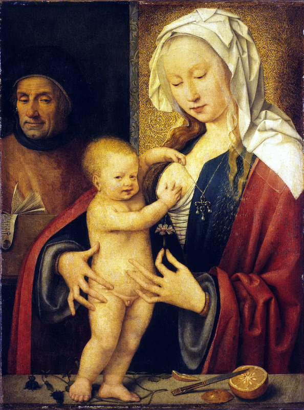 Иос ван Клеве. Святое Семейство