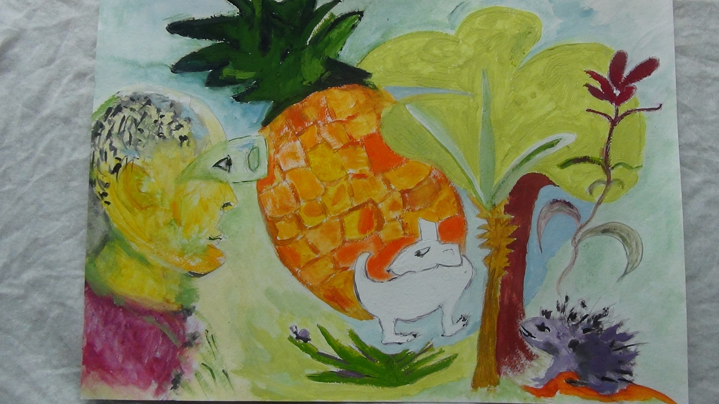 Yana Valerievna Chuprina. Pineapple and other spines
