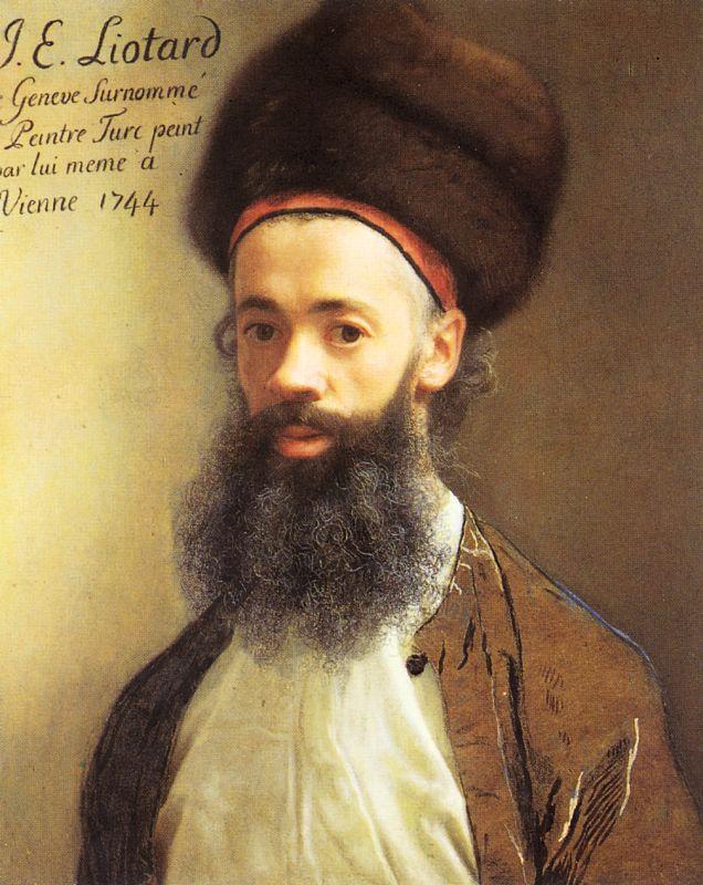 Жан-Этьен Лиотар. Мужской портрет
