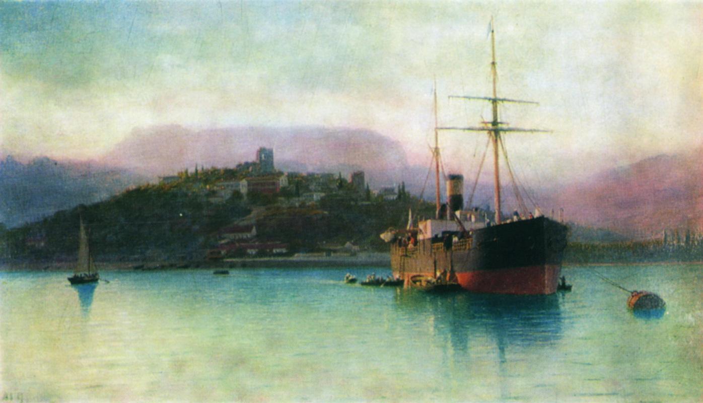 Lev Feliksovich Lagorio. Alushta