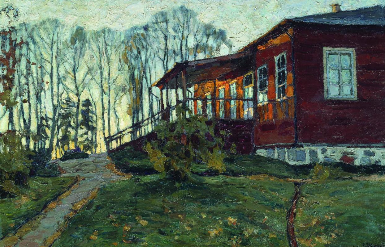 Stanislav Yulianovich Zhukovsky. Autumn evening