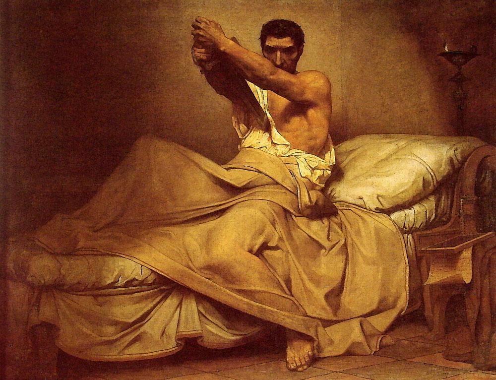 Jean-Paul Laurent. The Death Of Cato