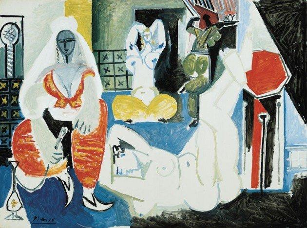 Пабло Пикассо. Алжирские женщины (версия I)