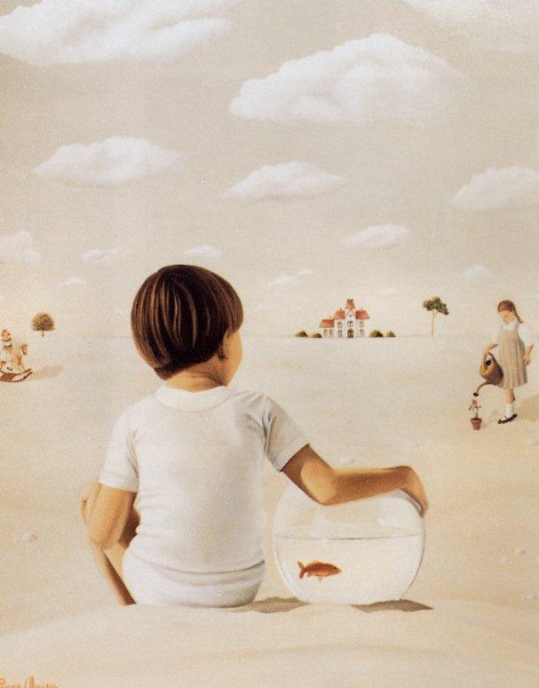 Лиана Дарбо. Мальчик с золотой рыбкой