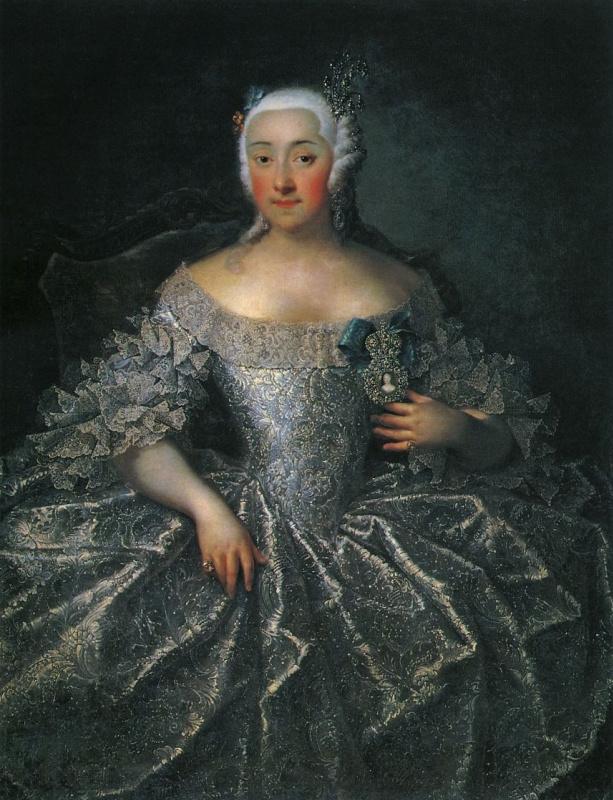 Портрет графини В. А. Шереметевой