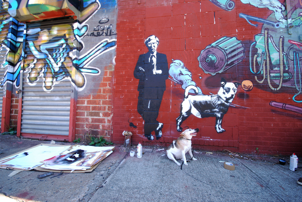 Black Le Rat. Warhol and the dog