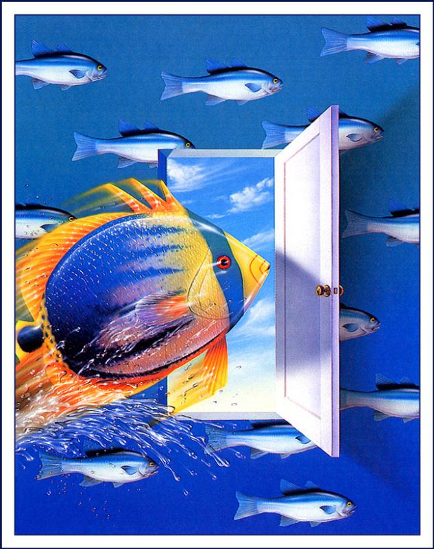 Регги Холладей. Рыба