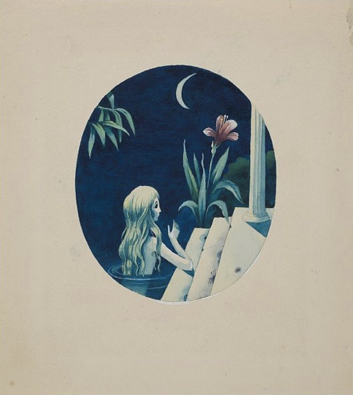 Русалочка. Иллюстрация к книге «Сказки и истории» Ганса Христиана Андерсена