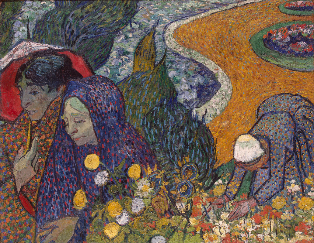 Vincent van Gogh. Memory of the Garden at Etten