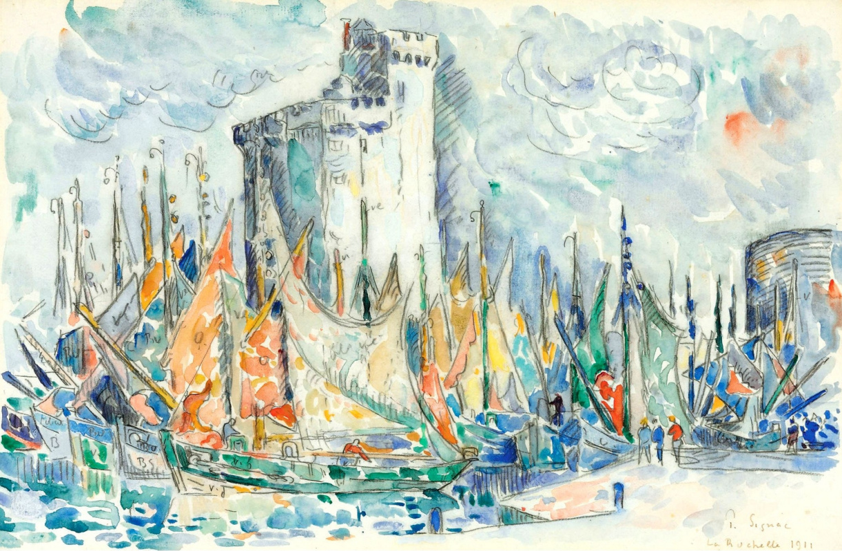 Paul Signac France 1863 - 1935. La Rochelle. 1911