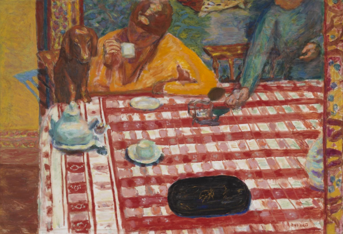 Pierre Bonnard. Coffee