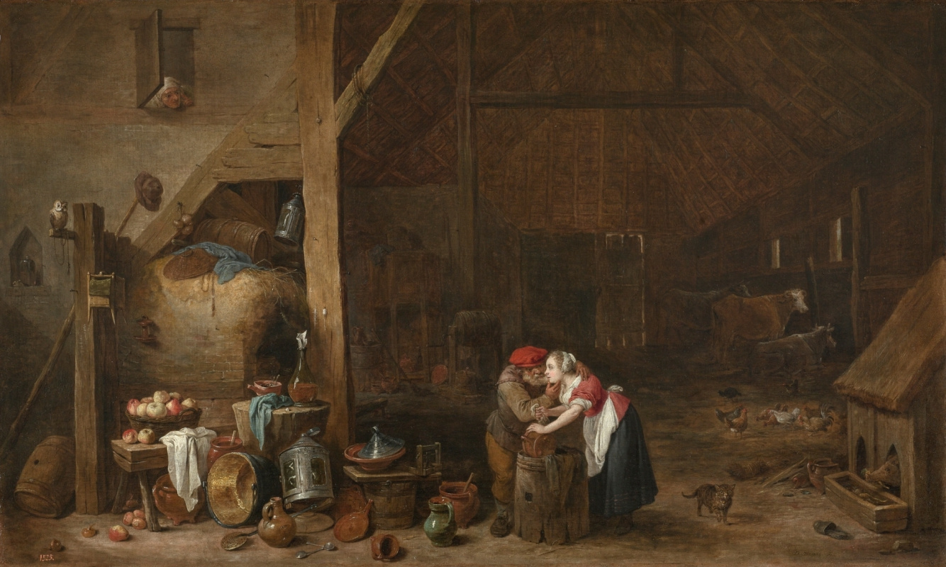David Teniers the Younger. Old man and virgin