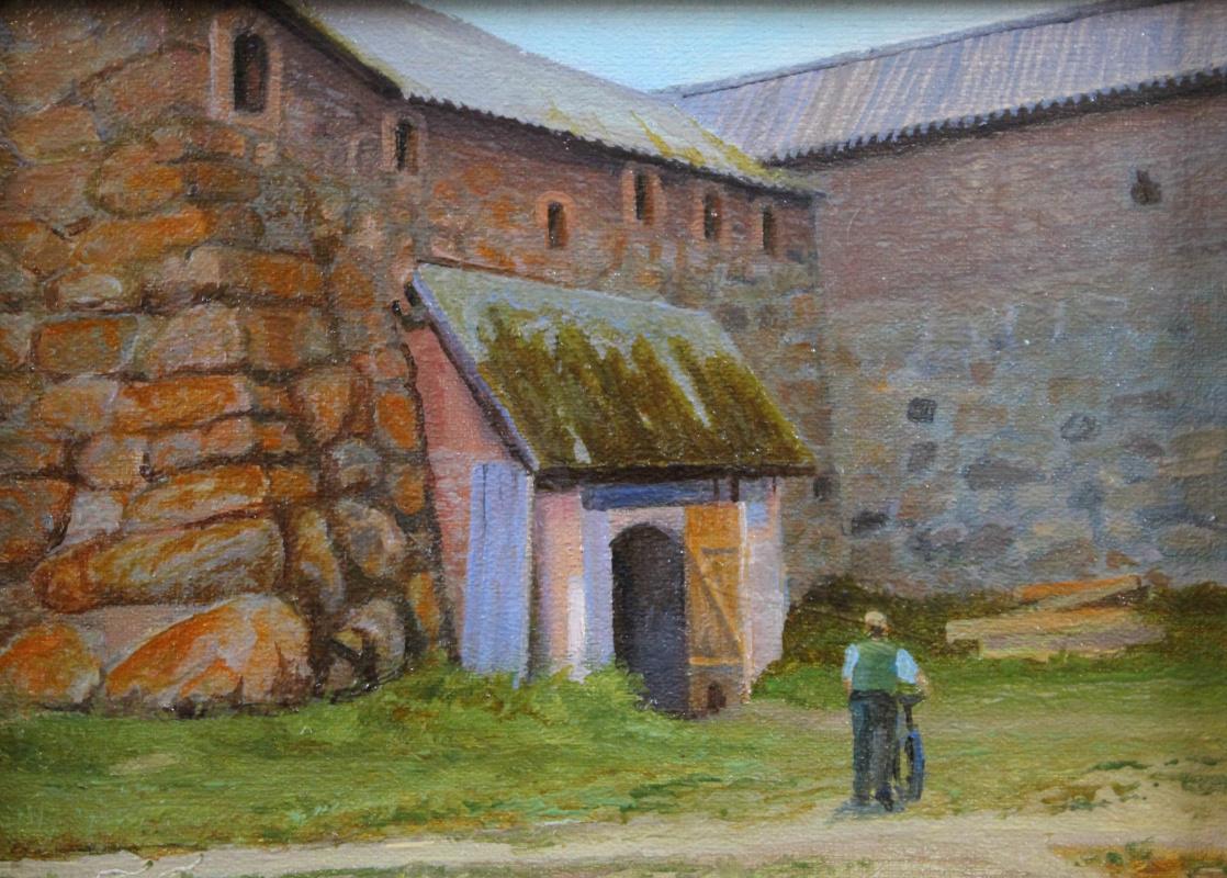 Gennady Shotovich Bartsits. Solovki, sketch